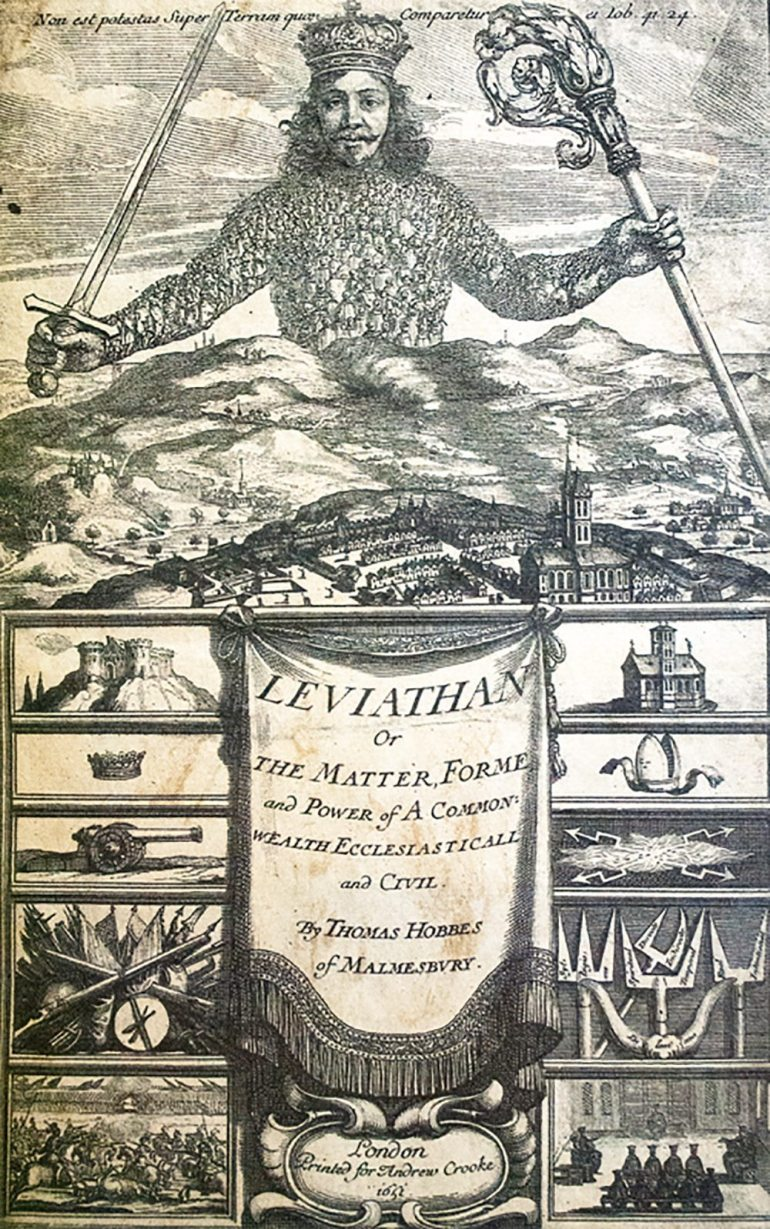 leviathan-thomas-hobbes-first-edition