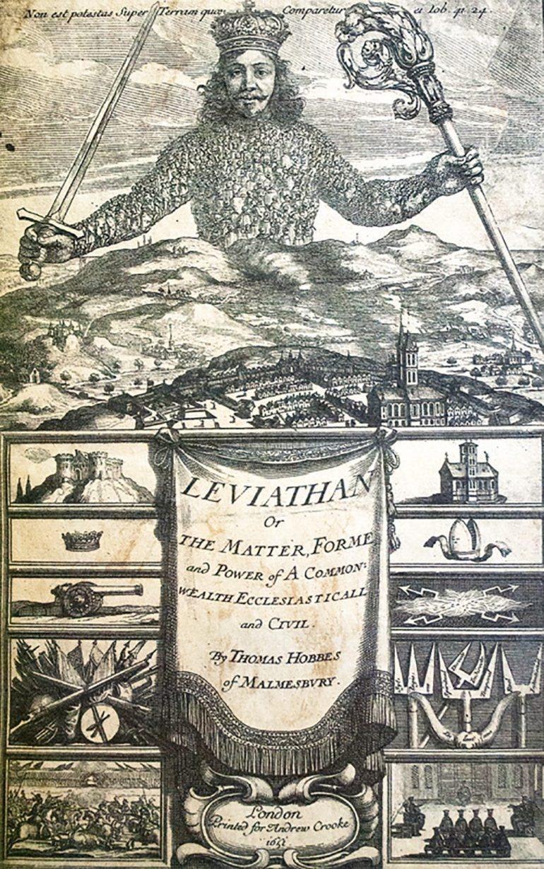 leviathan-thomas-hobbes-first-edition